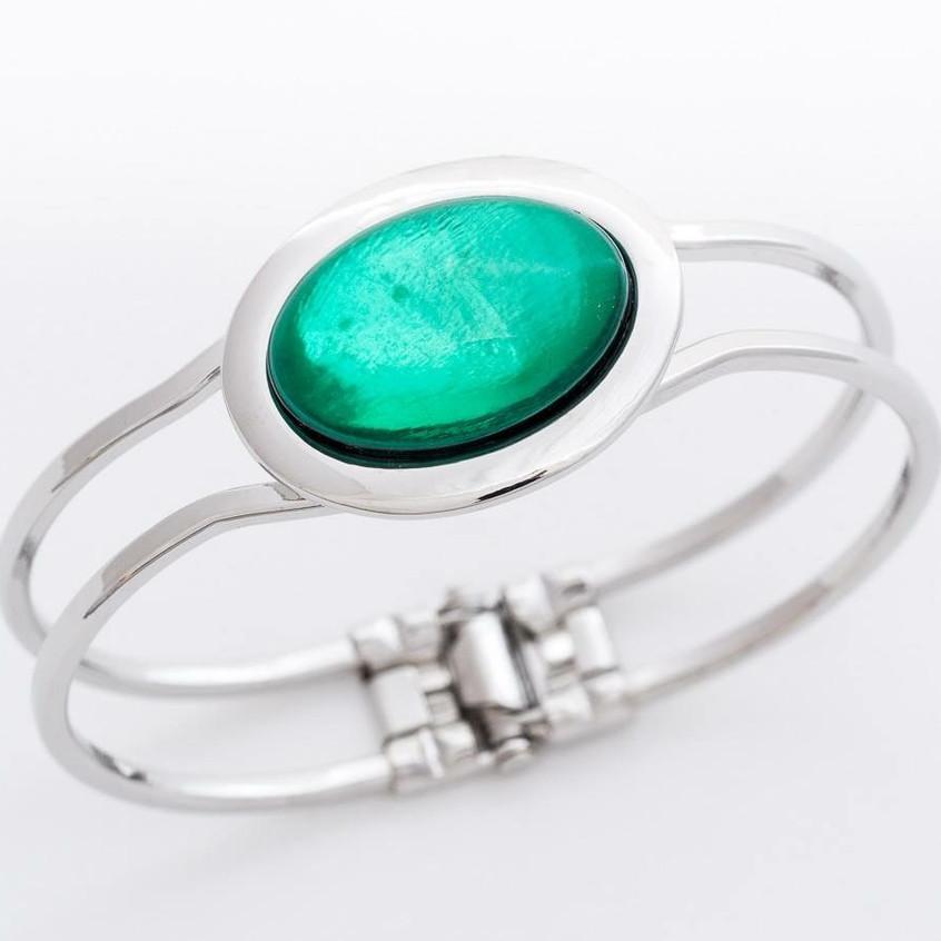 Silver embellished bracelet