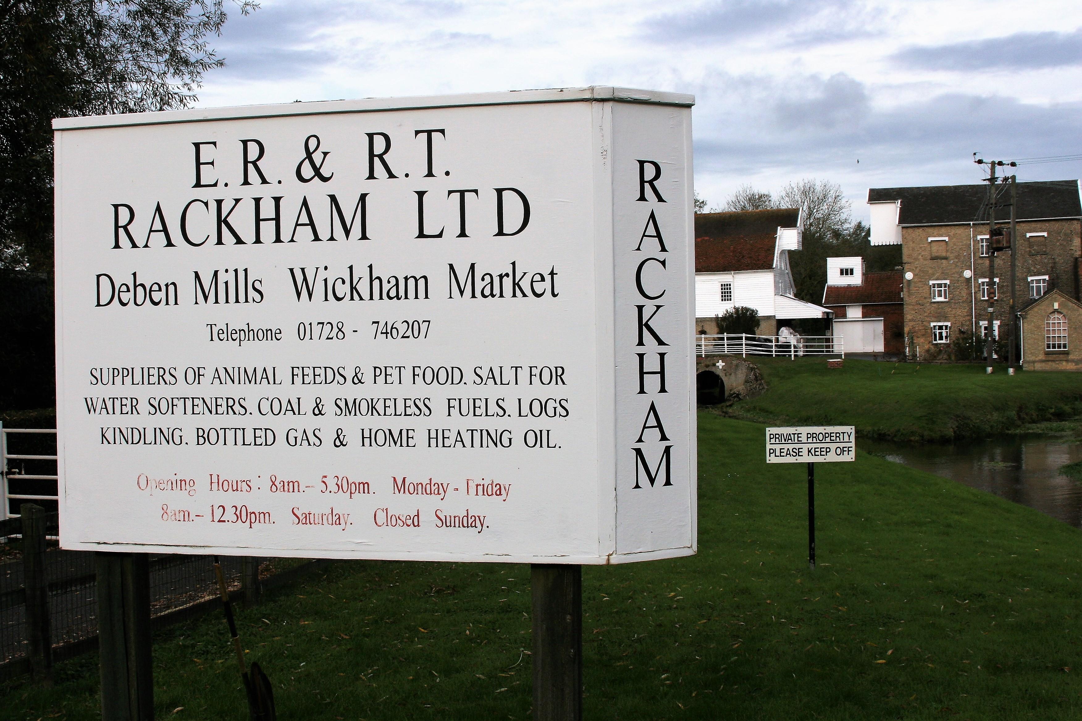 E.R & R.T Rackham Ltd,Wickham Market