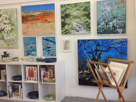 New Exhibition at Inspirations Val Bright-Jones