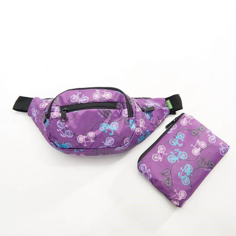 Purple bum bag Eco Chic