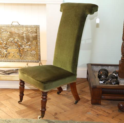 Green velvet chair.JPG