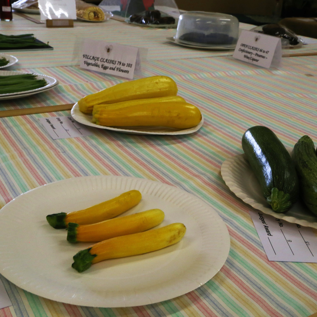 Local Courgettes