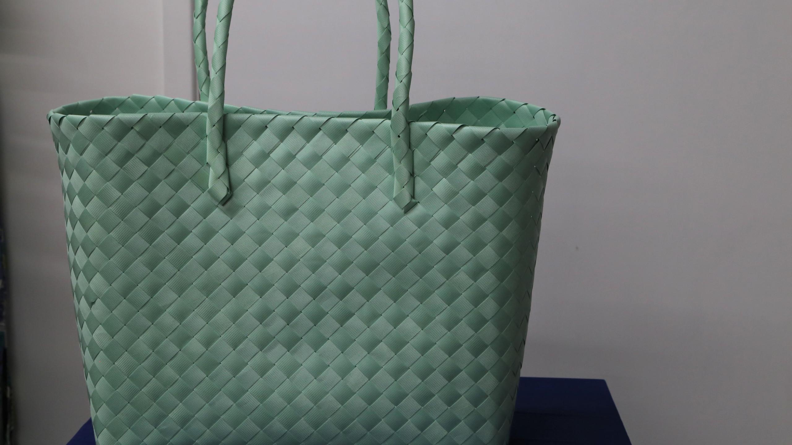 Green Beach Bag