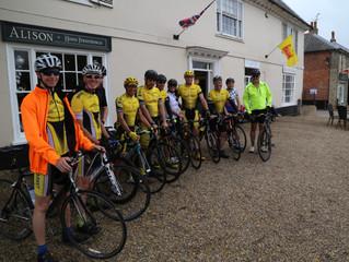 Wickham Market welcomes cyclists