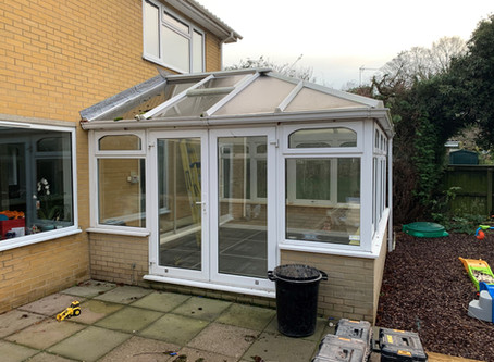 Another conservatory nearing completion