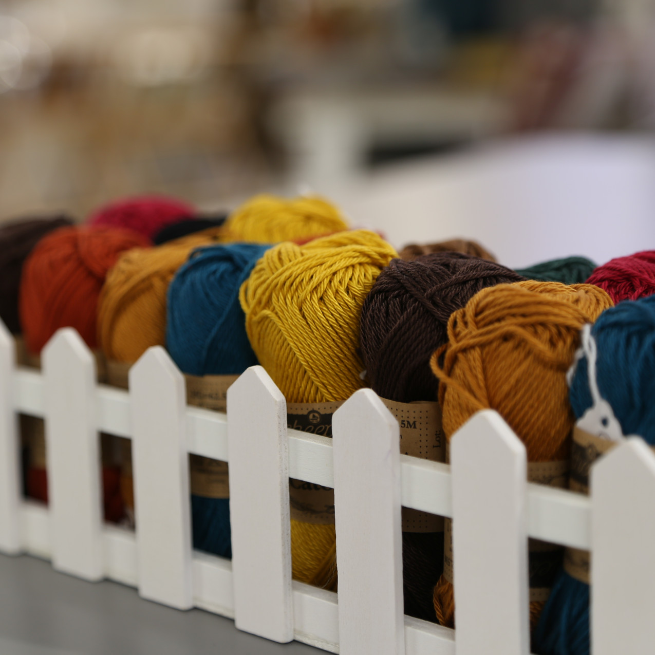 Selection of wool