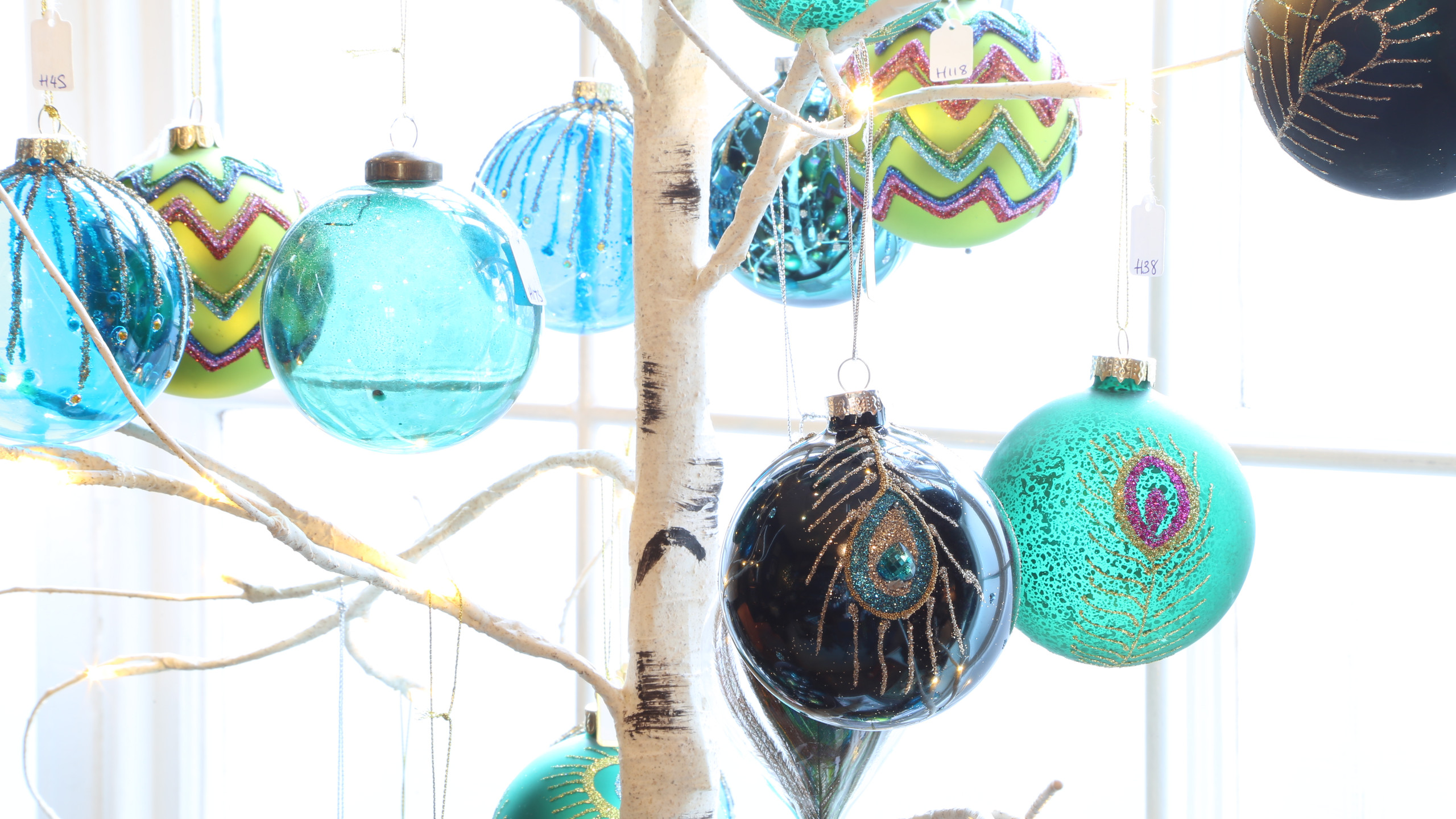 Colourful decorations