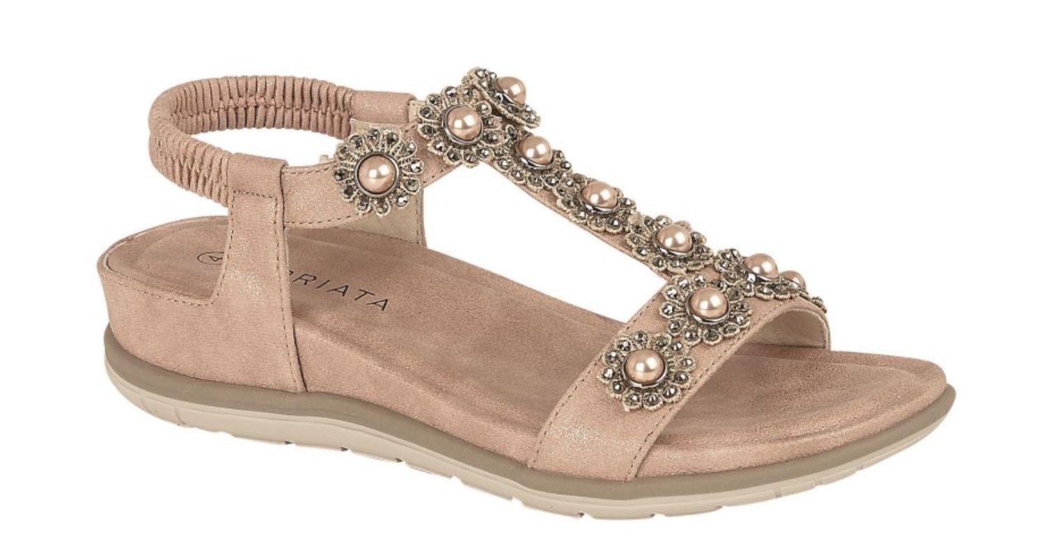 Cipriata Pearl Neutral Sandal