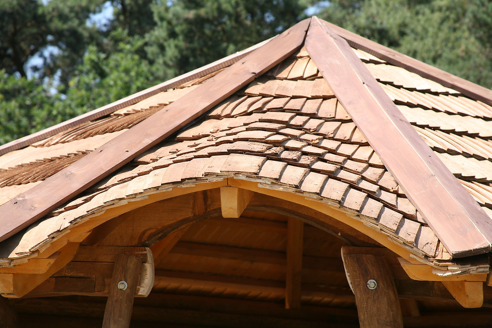 Rustic roofing tiles