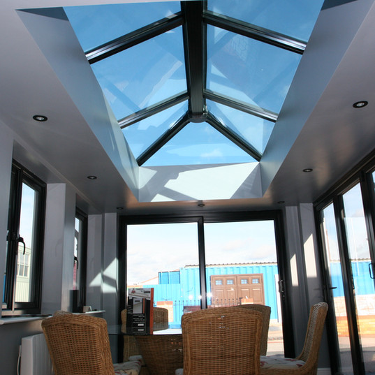 Internal picture of a conservatory