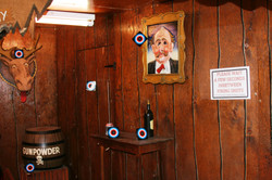 Traditional shooting gallery - wait between shots please