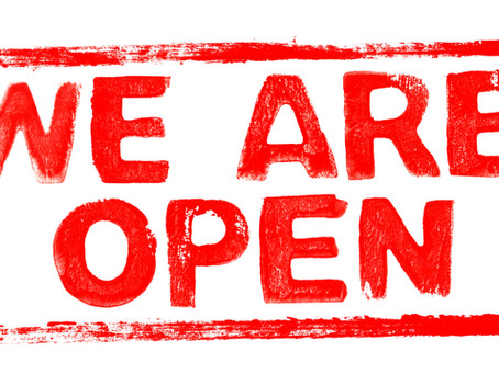 Dave Chapman - we are open