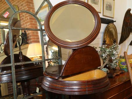 Antique Mirror Stand - £225