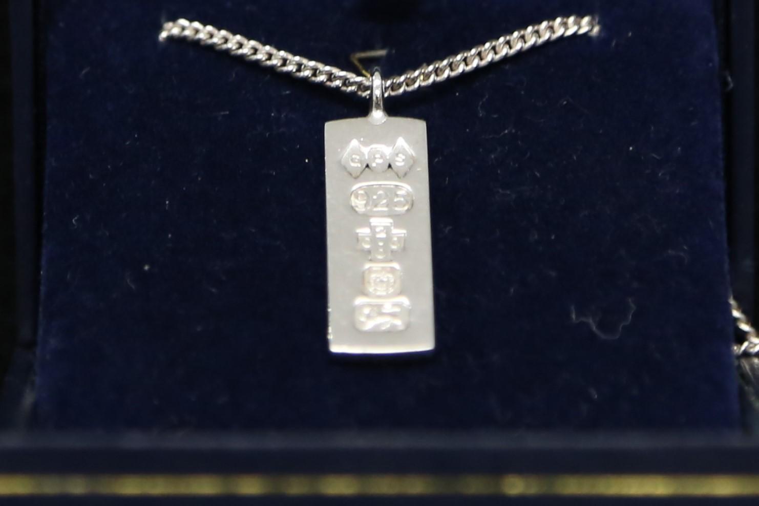 Graeme Sagar silver necklace