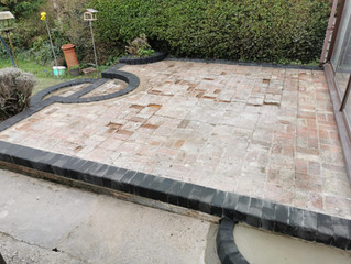 Resin patio areas for your garden