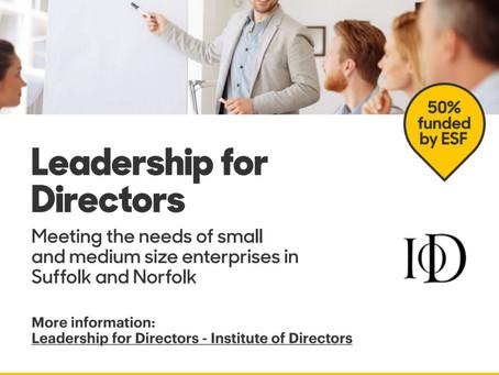 Half price training for Directors