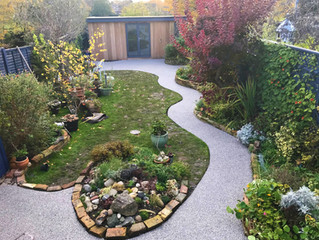 New resin pathway in Newmarket