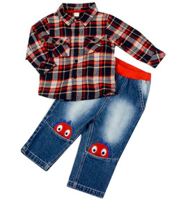 Checked Monster Outfit