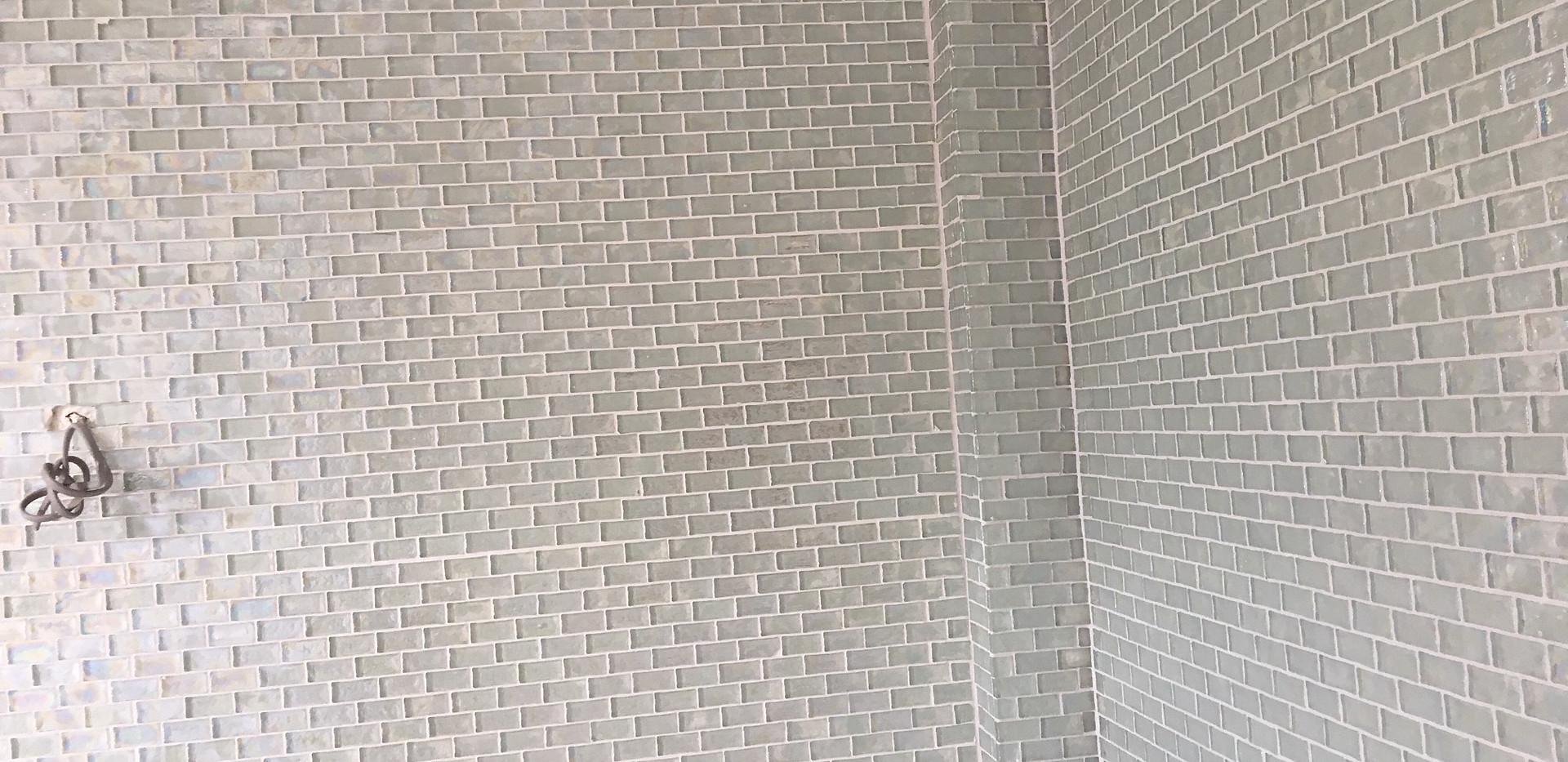 Tiling close up