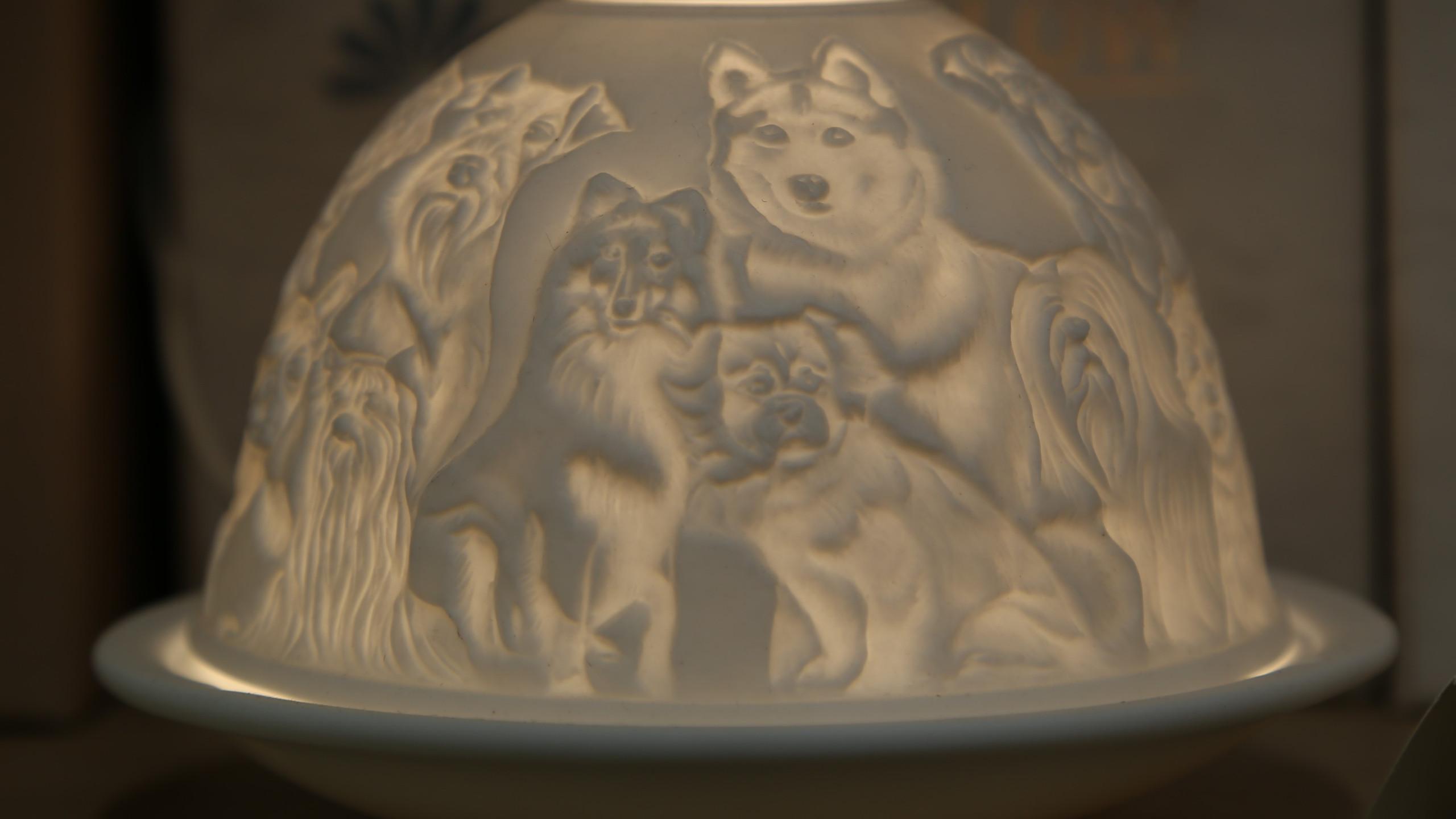 Dogs Tea Light