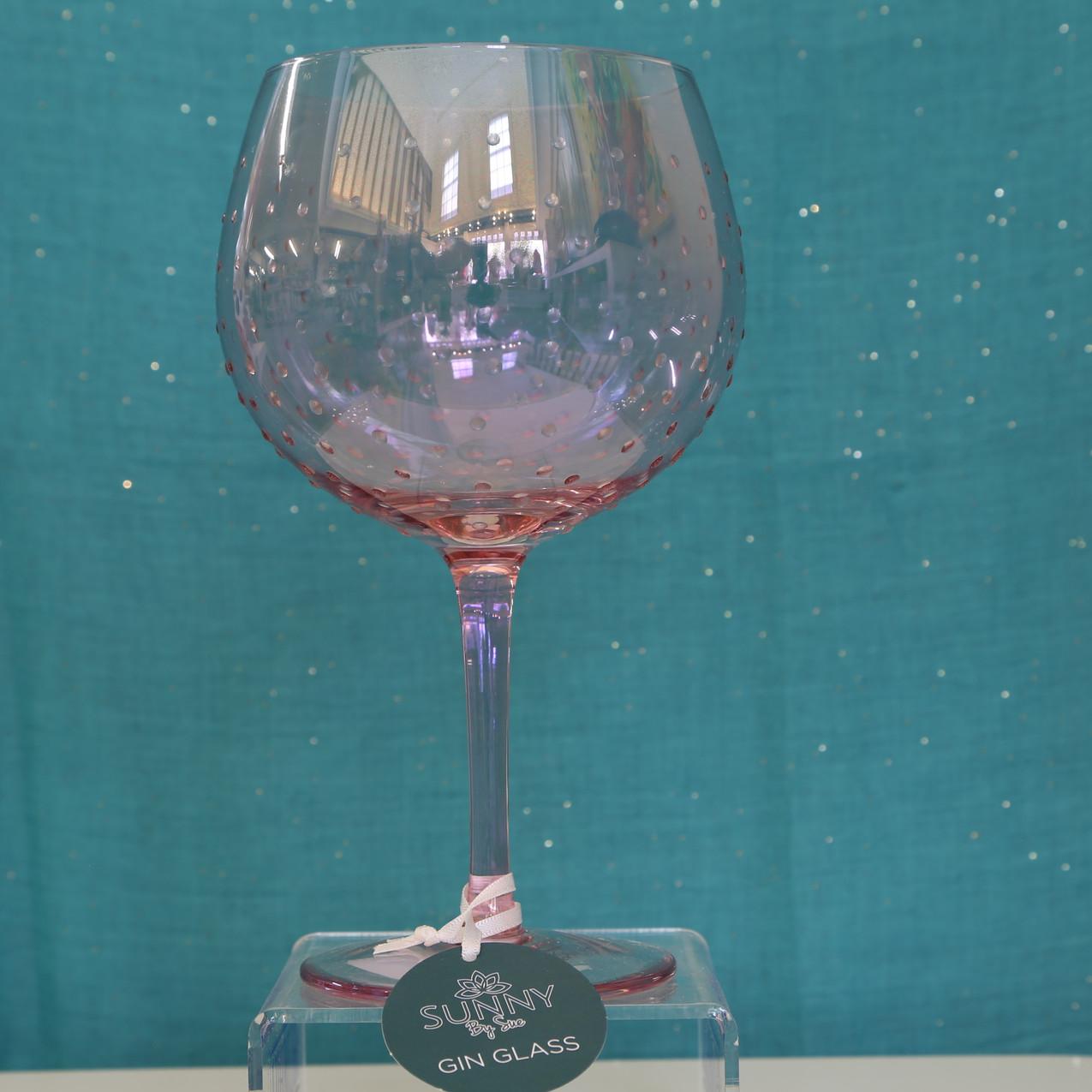 Gin Glass Pink