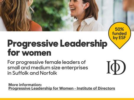 Half price training in leadership for women