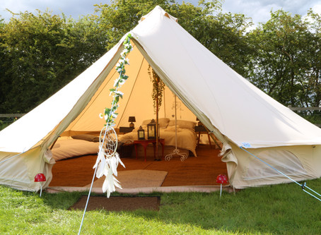 Glamping arrives at Easton Farm Park