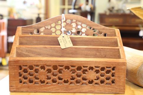 Wooden Letter Rack - £8