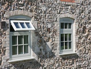 Completed windows on the house.... looks wonderful