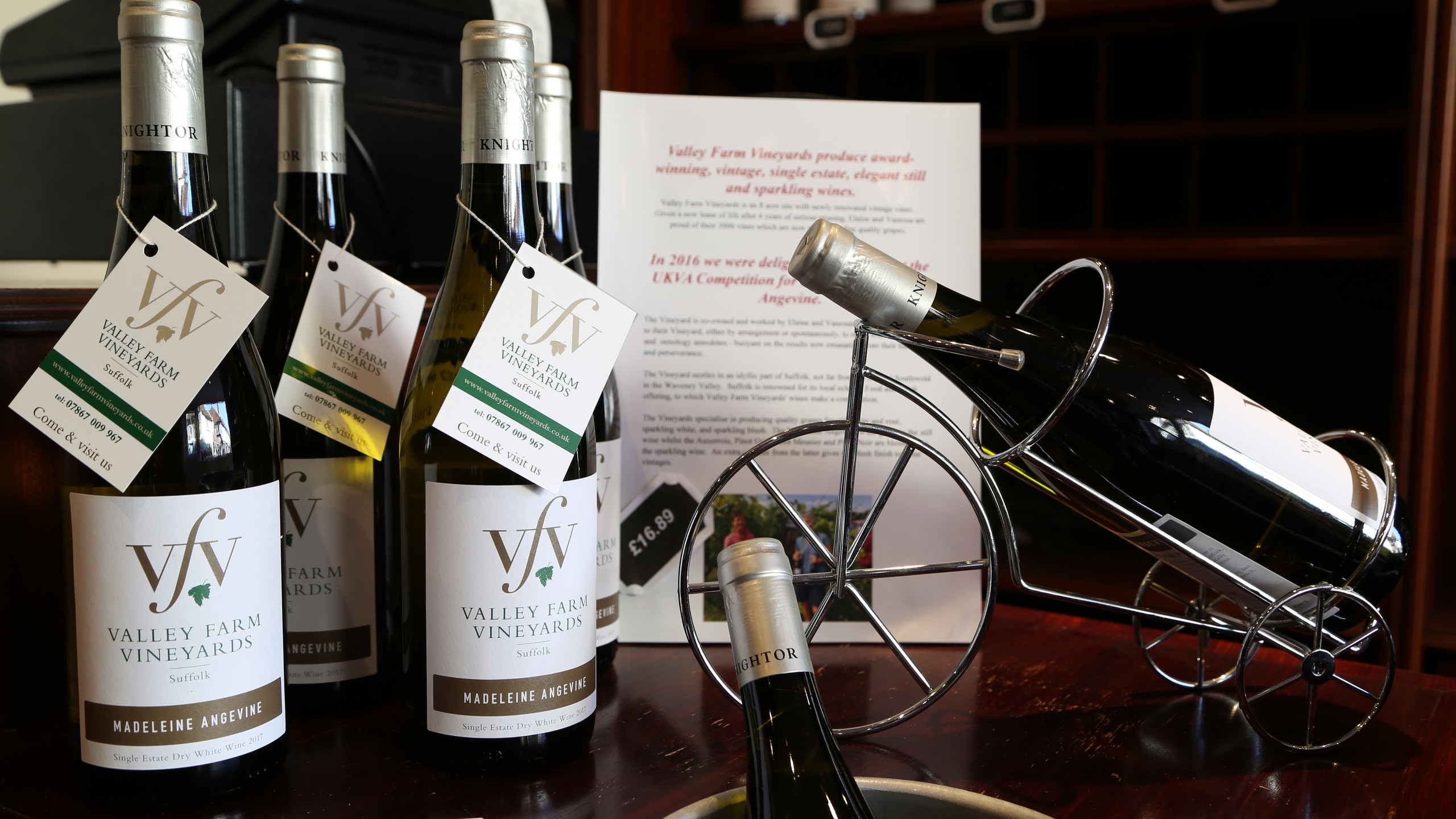 Wine from Halesworth