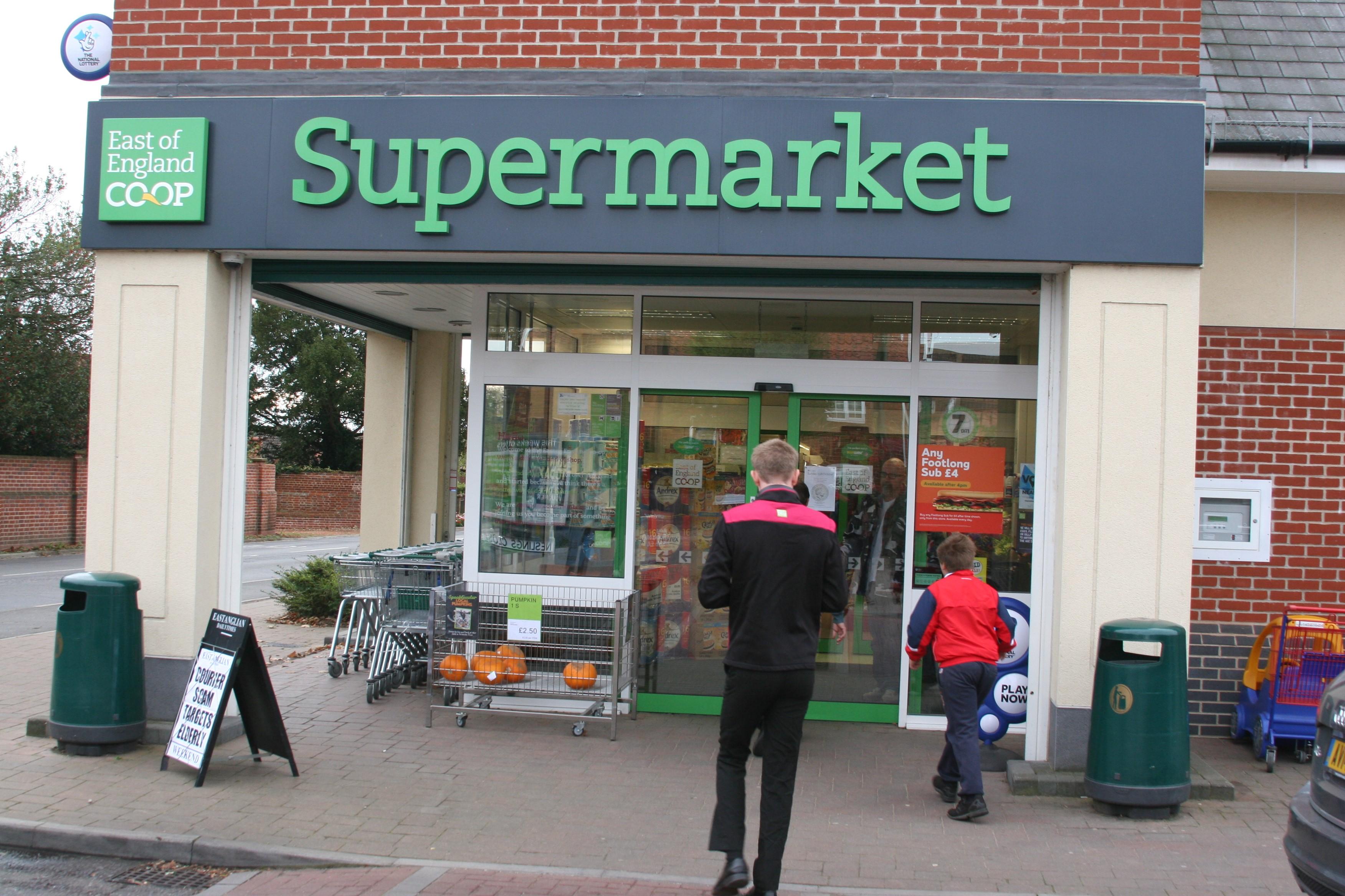 Co-op, Wickham Market Suffolk