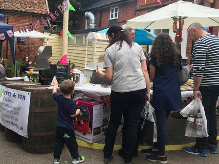 Framlingham sausage festival