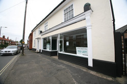 The old Co-Op shop front