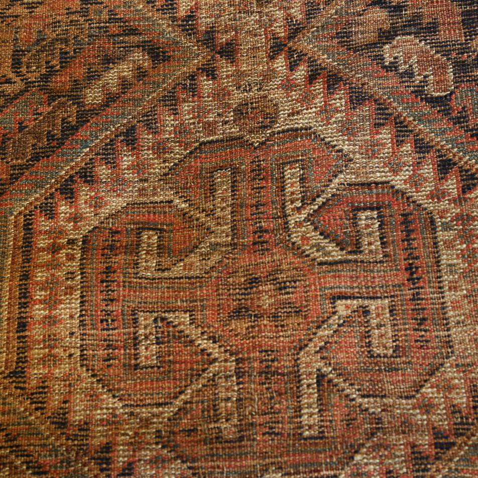 Patterned rug Detail