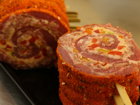 An amazing pork roulade