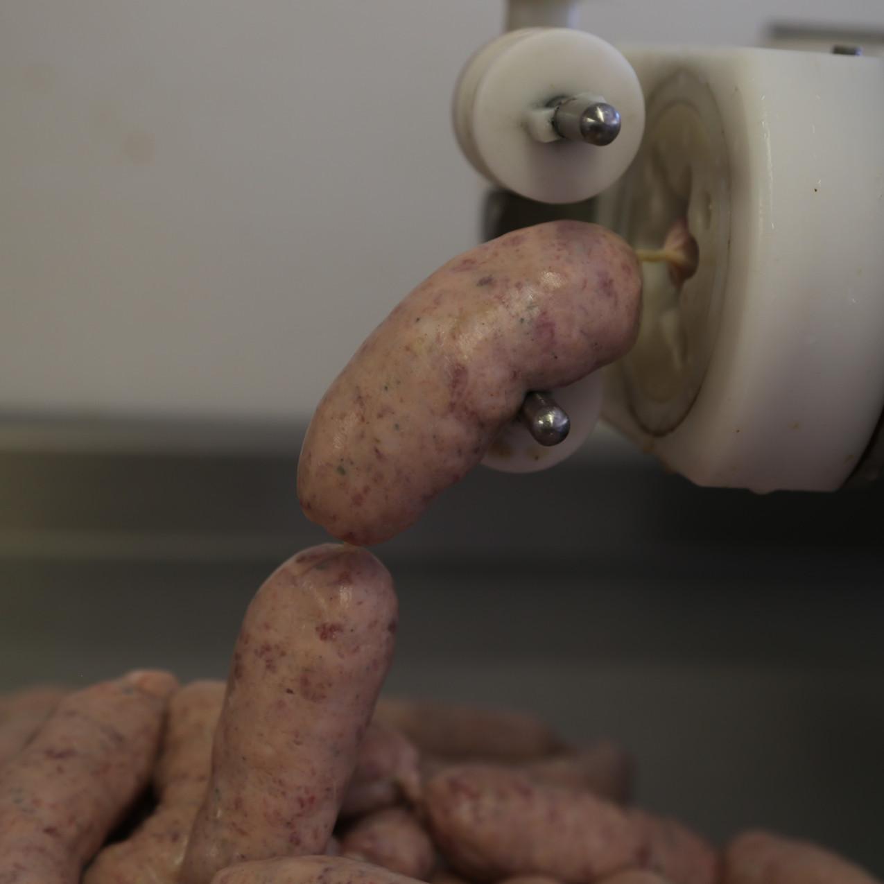 Making sausages 6