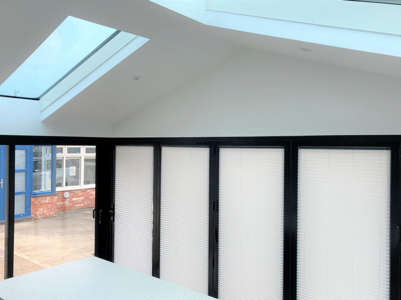 Conservatory blinds in the showroom.jpg