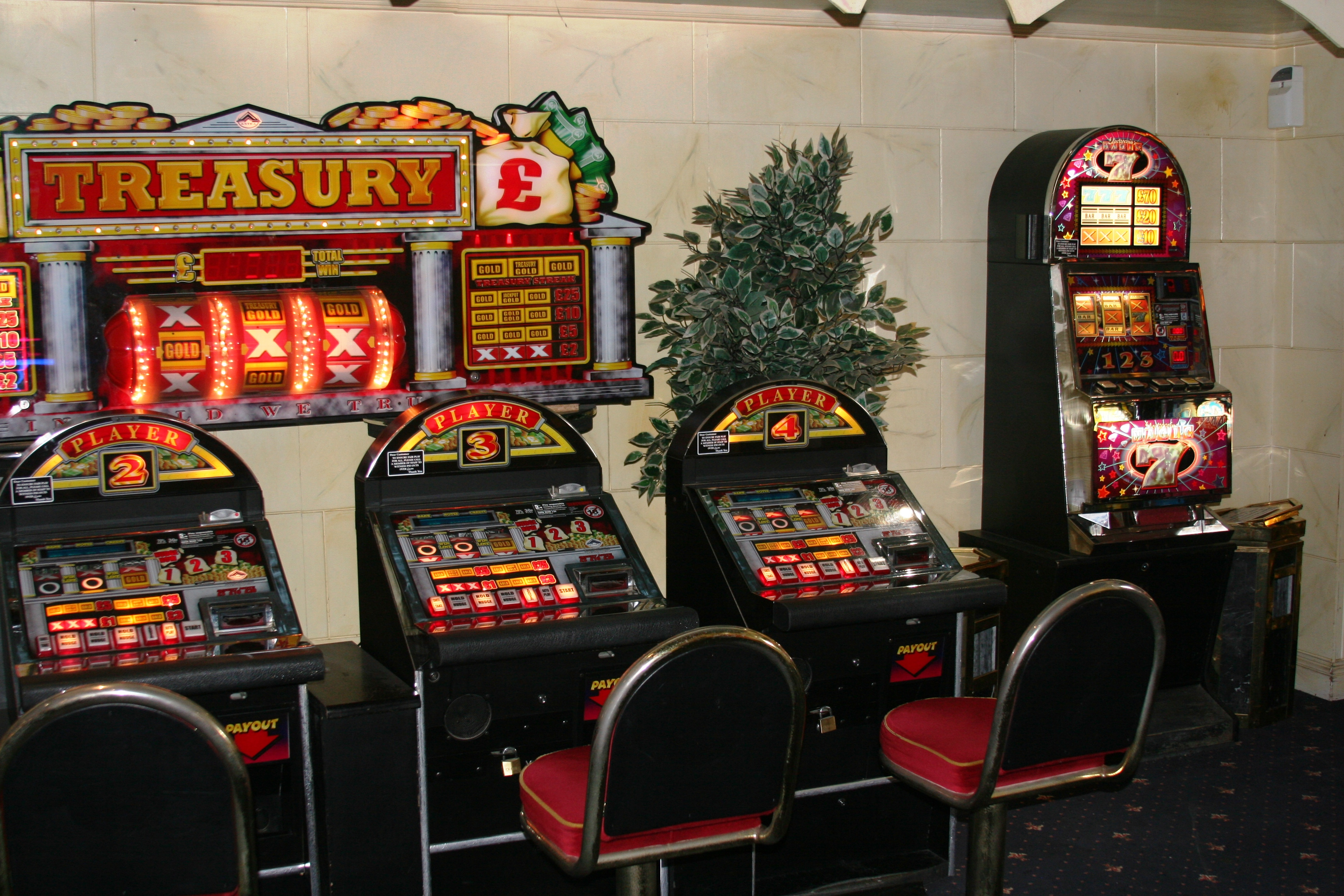 Traditional slot machines