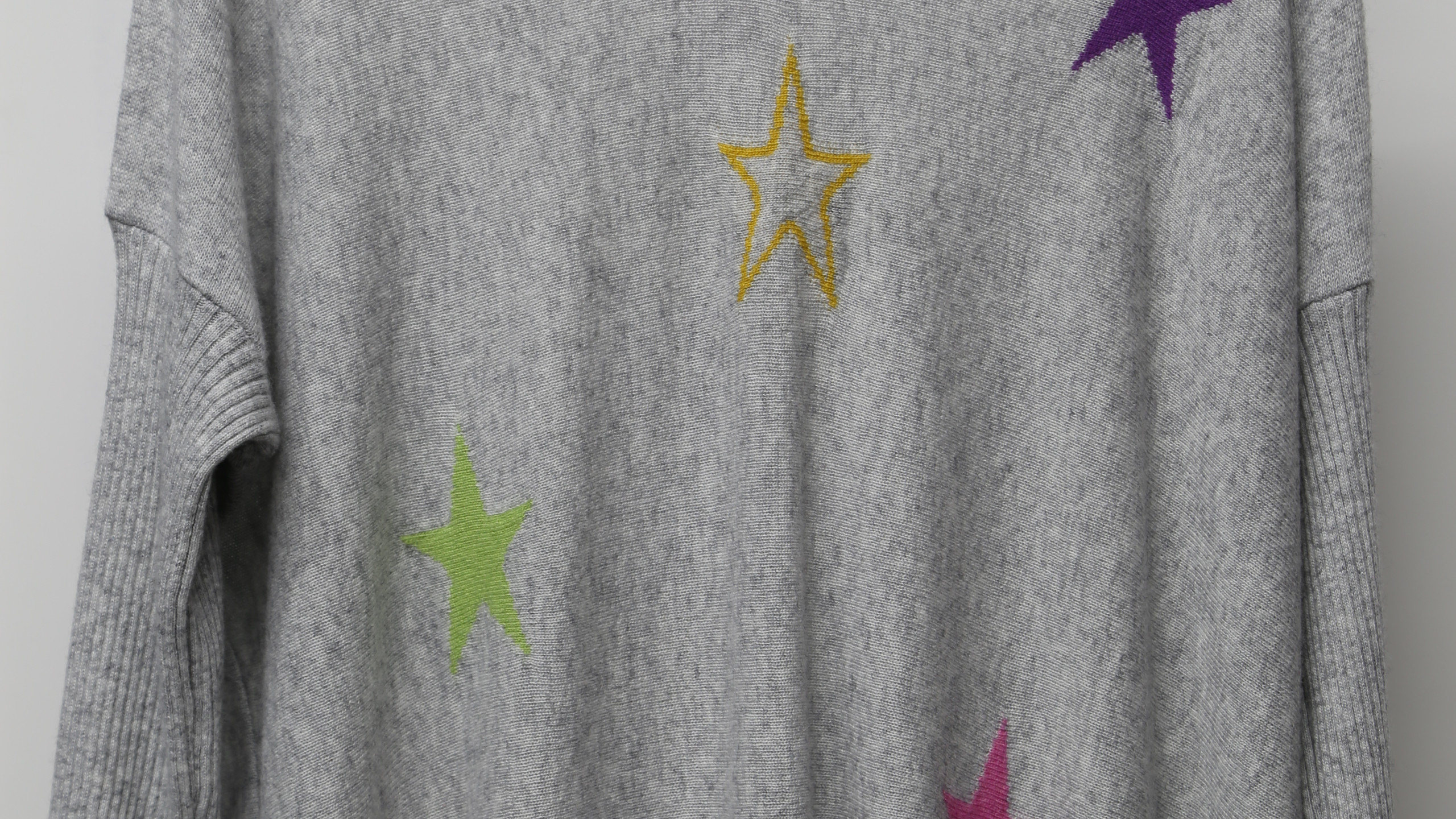 Grey Luella top with stars