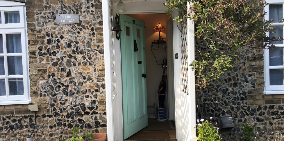Ground floor: Entrance to cottage