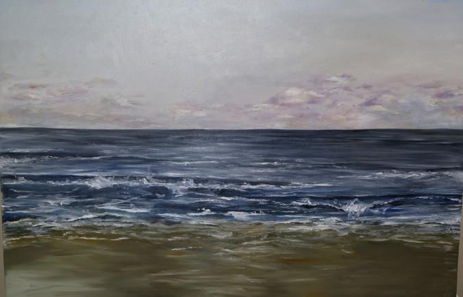 2019 Large seascape on canvas