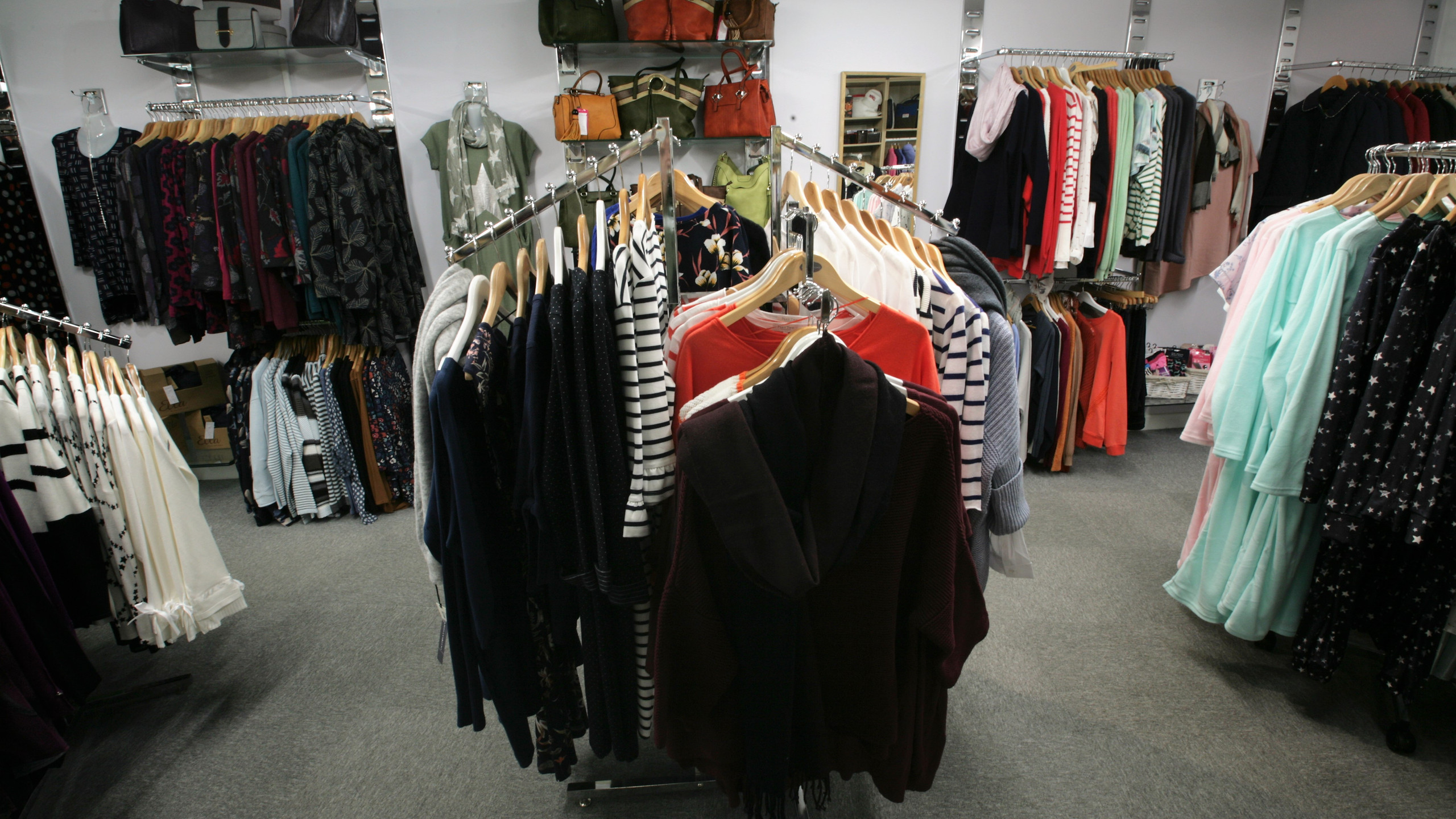 Autumn clothing range