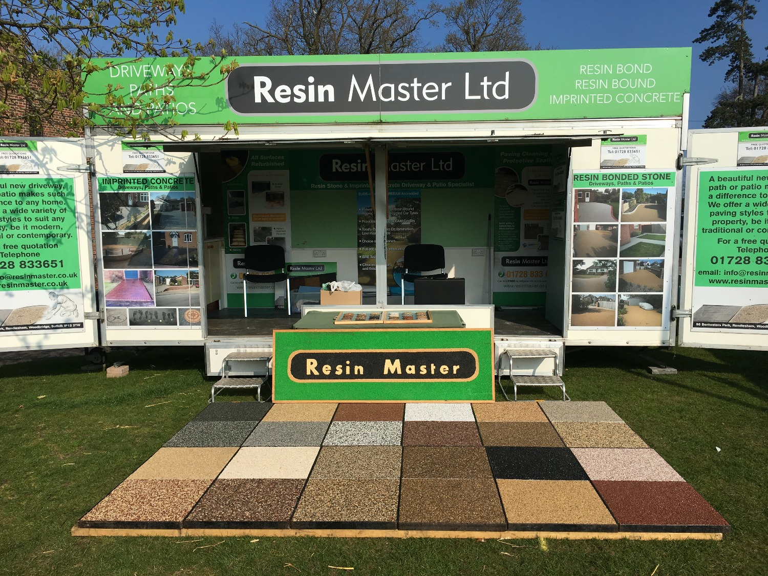 Resin Master at the Suffolk Show