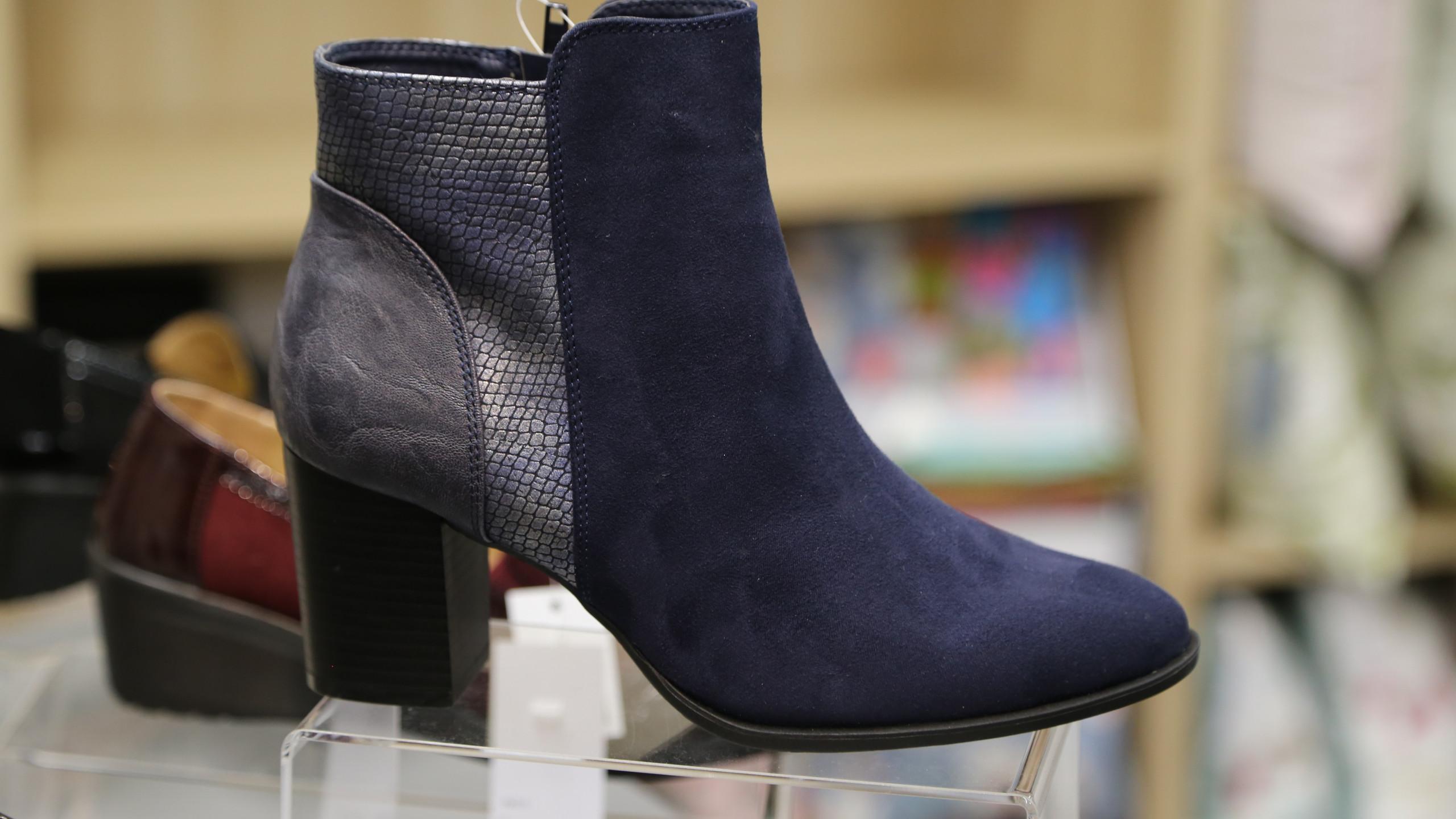 Blue boots £39