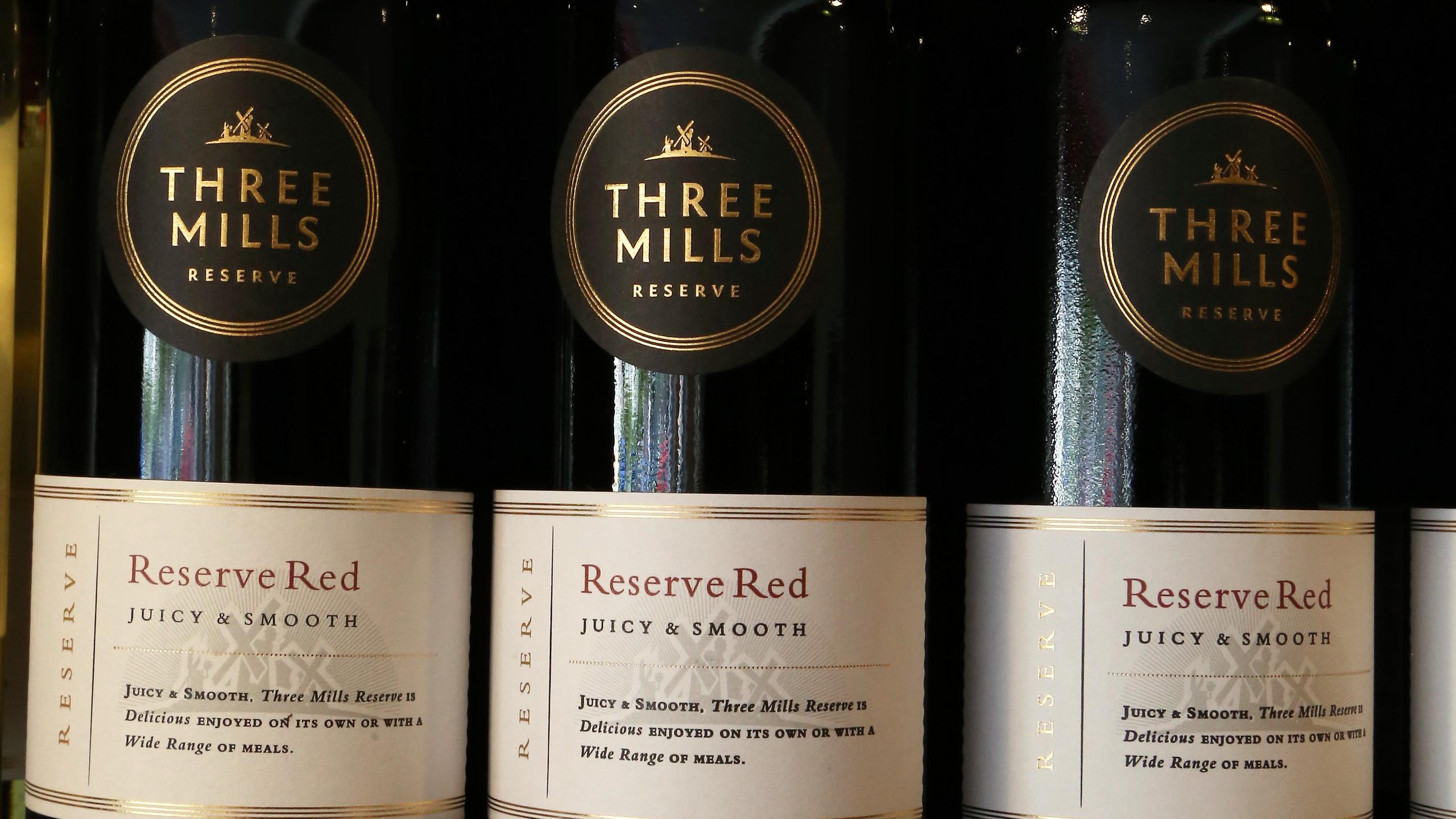 Three Mills Reserve red