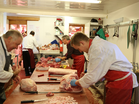Trainee butcher required