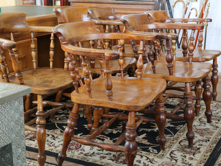 Set of Six Captains Chairs - £1295