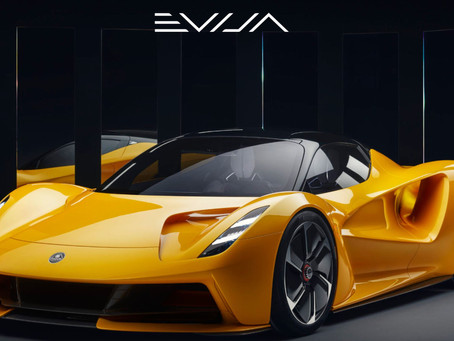 Lotus Evija - I would like a spin in one!