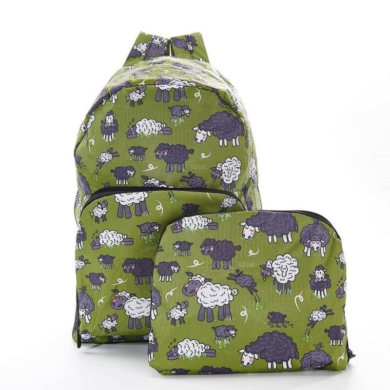 Green Sheep Backpack