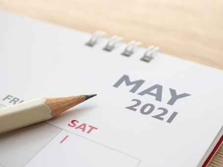 Payroll and accounts useful dates for your diary - May